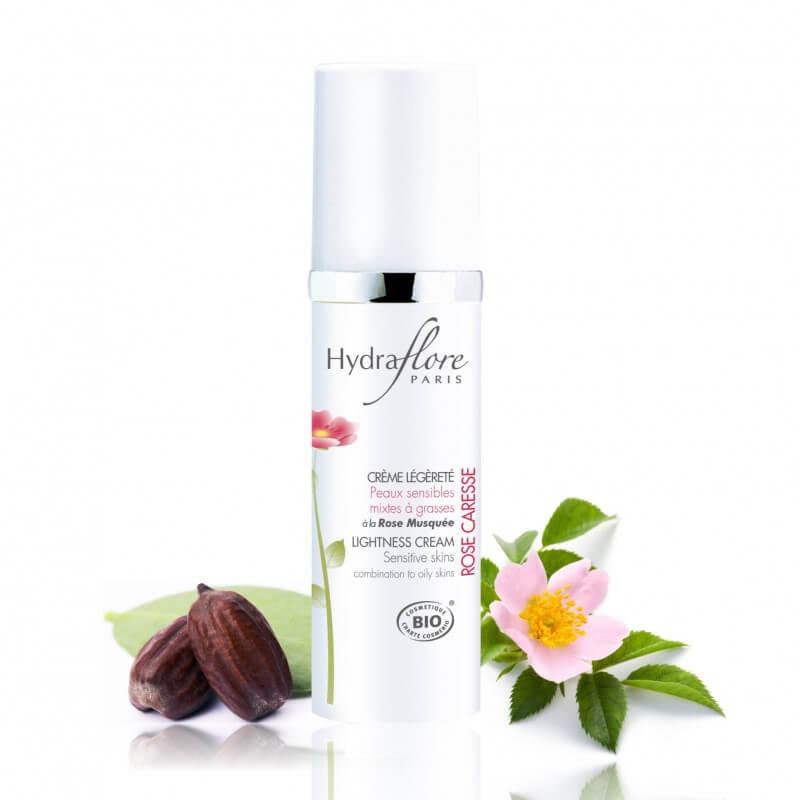 Crème Légèreté bio à la Rose Musquée Hydraflore
