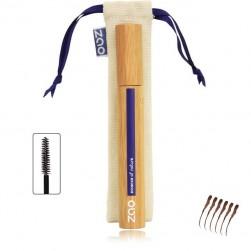 Mascara structurant Bambou Zao 080 Brun foncé