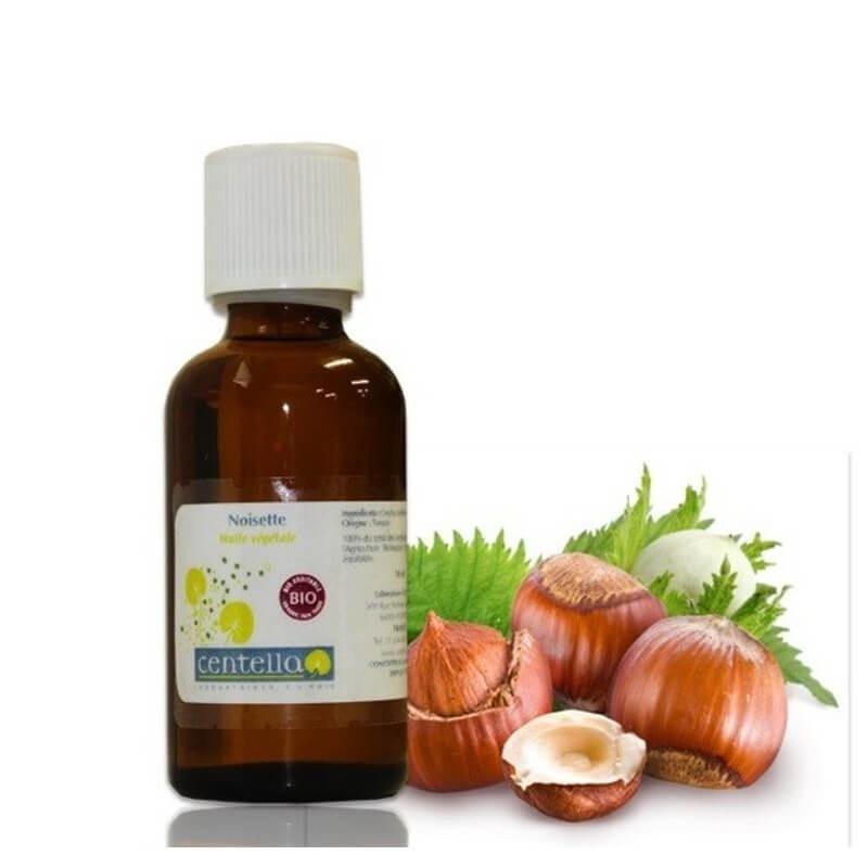 huile végétale de noisette bio-équitable
