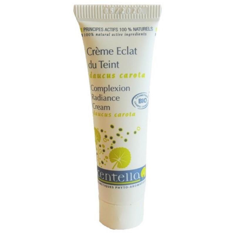 Crème bio Éclat du Teint pour le visage - Format Voyage
